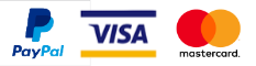 At Evolving Media, for your convenience, we accept PayPal, Visa and MasterCard.