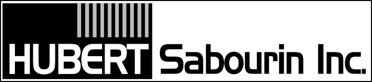 Logo design by Jeff Poissant, RGD of Evolving Media & Design Inc. for Hubert Sabourin Inc., in Alexandria, Ontario.