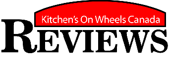 Logo design by Jeff Poissant, RGD of Evolving Media & Design Inc. for Kitchens On Wheels Canada, in Eastern Ontario.
