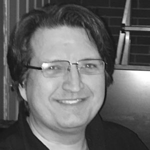 A photo of Jeff Poissant, owner of Evolving Media & Design Inc.