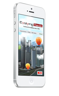 Visit Evolvingmedia.com, our fully responsive website. Evolving Media & Design Inc. is a A multi-disciplined design studio in Eastern Ontario committed to the success of your business, since 1995.